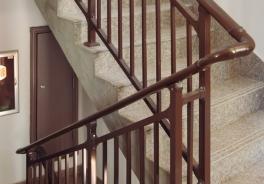 抚州(锌钢)楼梯扶手系列